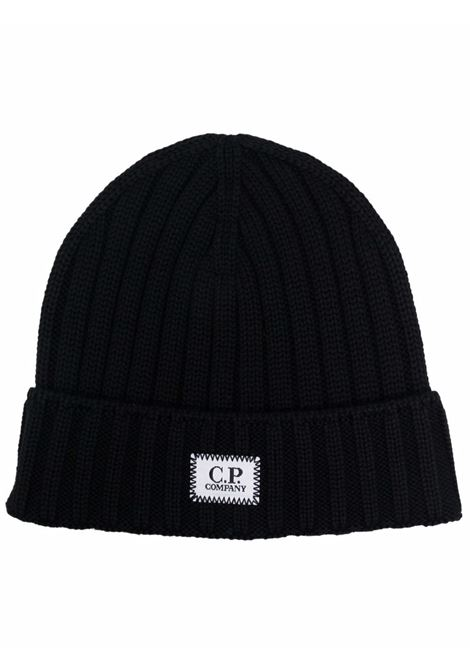 wool hat man black  C.P. COMPANY | Hats | 11CMAC120A005509A999