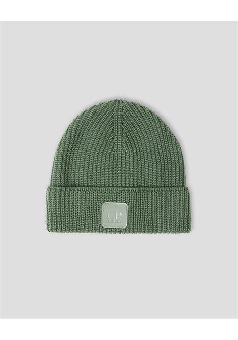 cappello in lana uomo grigio C.P. COMPANY | Cappelli | 11CMAC121A005509A665