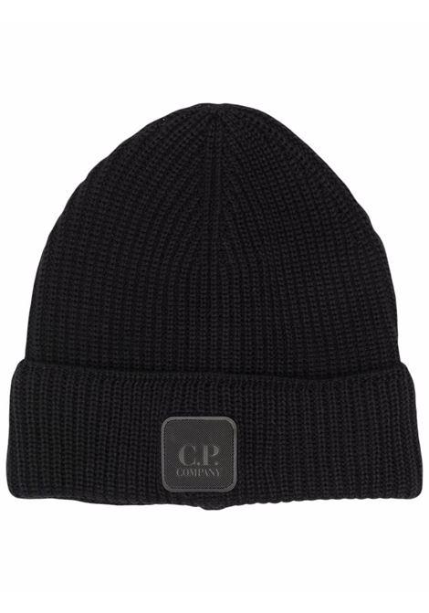 cappello in lana uomo nero C.P. COMPANY | Cappelli | 11CMAC121A005509A999