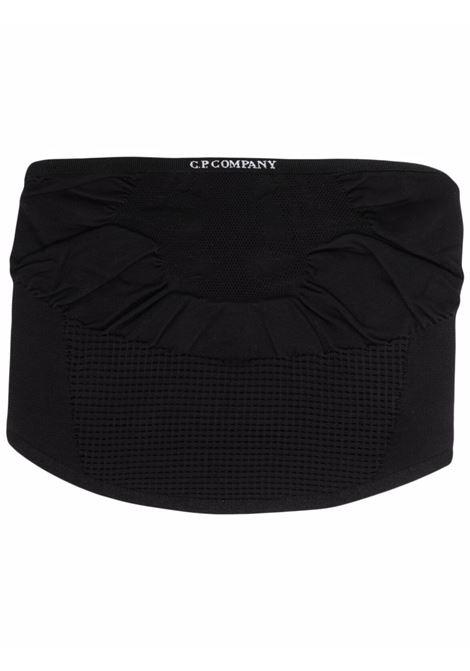 sciarpa girocollo uomo nera in poliammide C.P. COMPANY | Sciarpe | 11CMAC276A006138A999