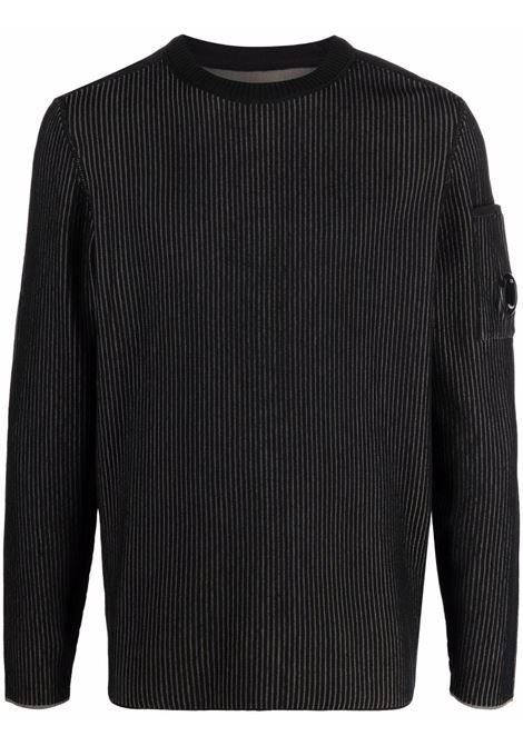 maglione a costine uomo var C.P. COMPANY | Maglieria | 11CMKN096A005834AV05
