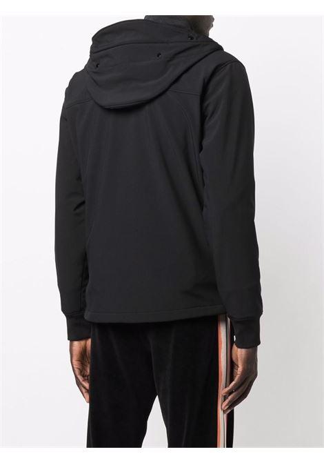 giacca leggera con cappuccio uomo nera C.P. COMPANY | Giacche | 11CMOW002A006097A999