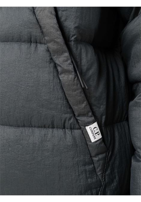 quilted down jacket man gray C.P. COMPANY | Jackets | 11CMOW164A006110G968