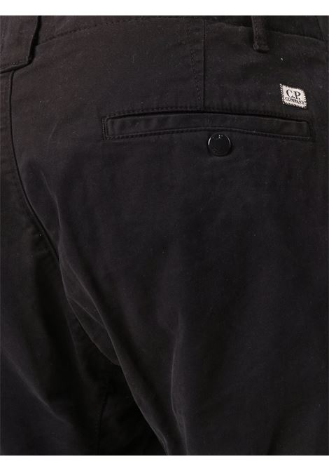 cargo pant man black in cotton C.P. COMPANY | Trousers | 11CMPA186A005529G999