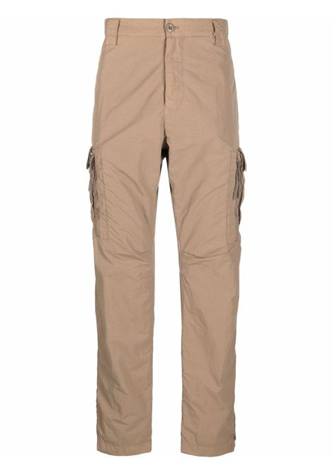 cargo pant man camel in polyamide C.P. COMPANY | Trousers | 11CMPA228A005991G326