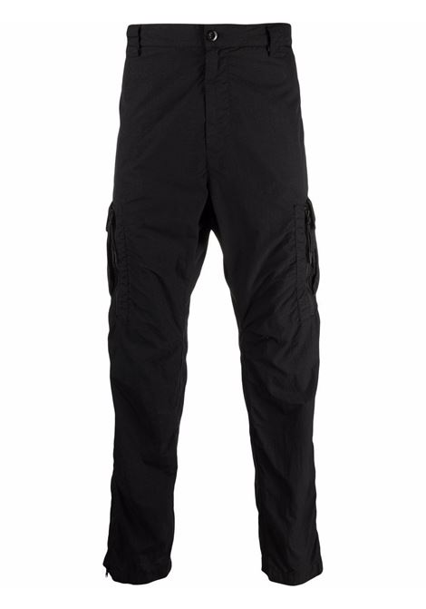 cargo pant man black in polyamide C.P. COMPANY | Trousers | 11CMPA228A005991G999
