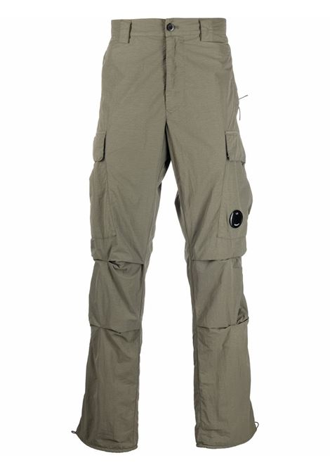 cargo pant man gray in polyamide C.P. COMPANY | Trousers | 11CMPA229A005991G665