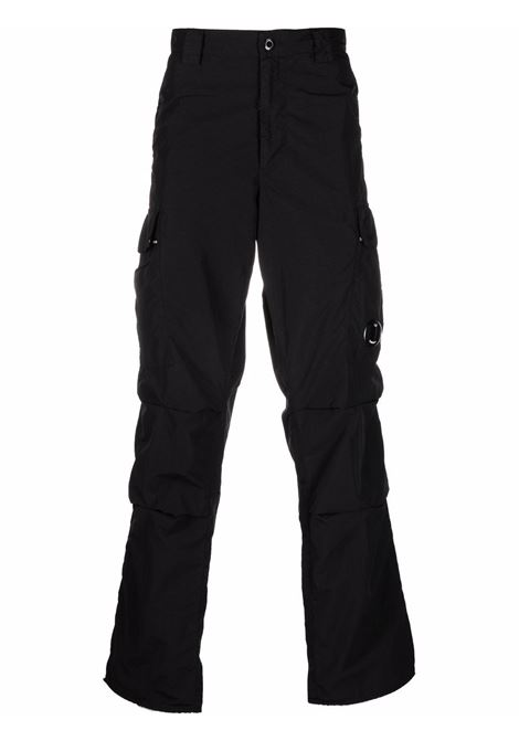 cargo pant man black in polyamide C.P. COMPANY | Trousers | 11CMPA229A005991G999