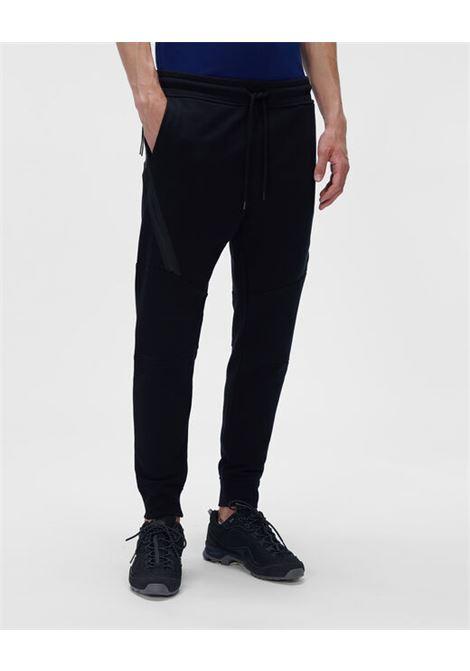 sports pants man black in cotton C.P. COMPANY | Trousers | 11CMSP061A005086W999