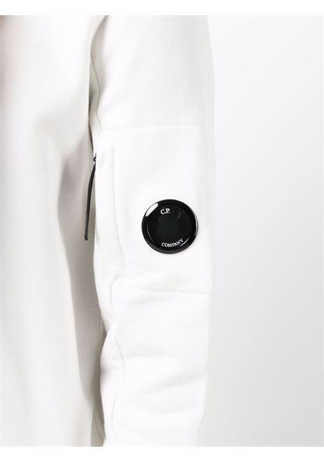 felpa a girocollo uomo bianca in cotone C.P. COMPANY   Felpe   11CMSS055A005086W103