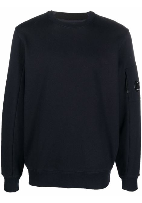 crewneck sweatshirt man total eclipse in cotton C.P. COMPANY   Sweatshirts   11CMSS055A005086W888