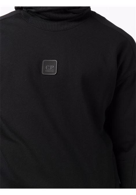 hoodie logo man black in cotton C.P. COMPANY | Sweatshirts | 11CMSS068A005086W999