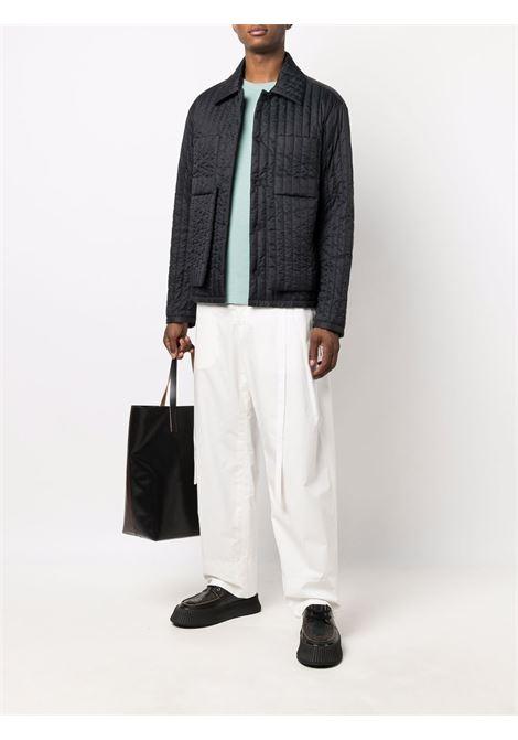 worker shirt jacket man black in cotton CRAIG GREEN   Jackets   CGAW21CWOJKT01