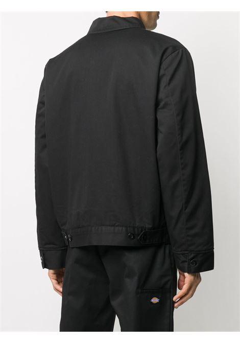 shirt jacket man black DICKIES   Jackets   DK00TJ15BLK1
