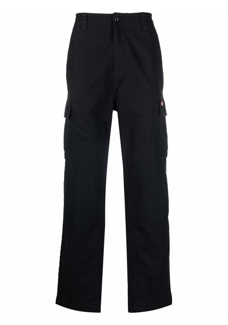 cargo trousers man black in cotton DICKIES | Trousers | DK0A4X9XBLK1