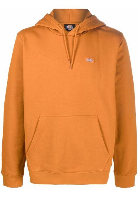 felpa con cappuccio uomo arancione in cotone DICKIES | Felpe | DK0A4XCDB831