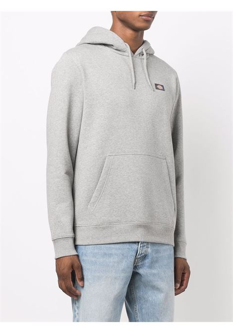 logo hoodie man gray in cotton DICKIES | Sweatshirts | DK0A4XCDGYM1