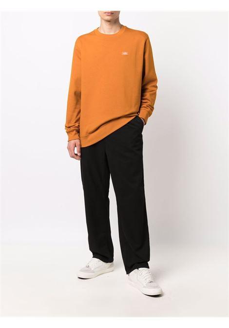 logo sweatshirt man orange in cotton DICKIES | Sweatshirts | DK0A4XCEB831