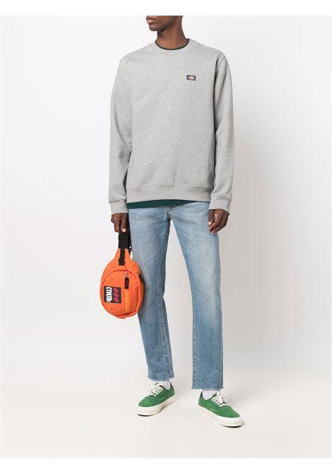 logo sweatshirt man gray in cotton DICKIES | Sweatshirts | DK0A4XCEGYM1