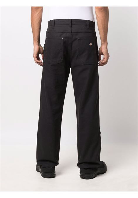 straight pants man black in cotton DICKIES | Trousers | DK0A4XGOBLK1