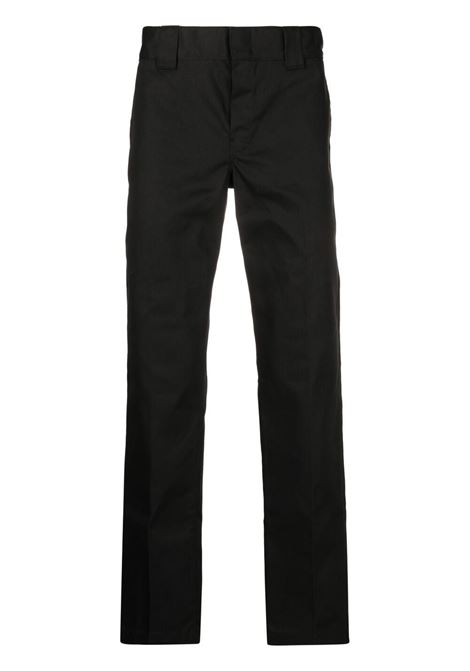 straight pant man black DICKIES | Trousers | DK0WP873BLK1