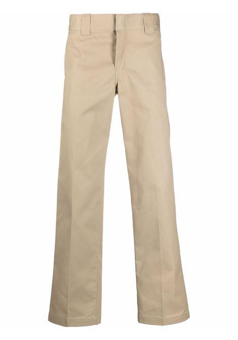 pantaloni dritti uomo beige in cotone DICKIES | Pantaloni | DK0WP873KHK1
