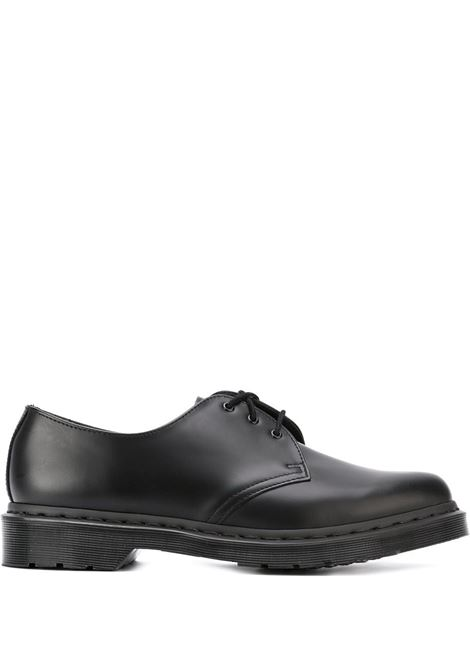 1461 lace up man black in leather DR. MARTENS | Laced Shoes | 14345001BLACK