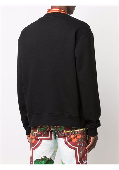 haf sweater man black in cotton DRIES VAN NOTEN | Sweaters | HAF 3612900