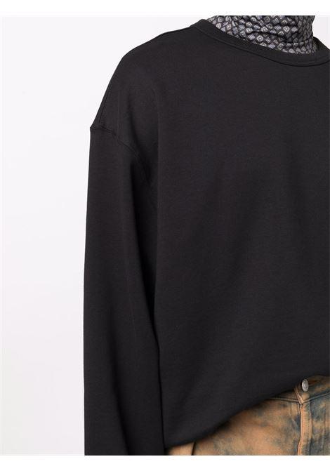 hax sweater man black in cotton DRIES VAN NOTEN   Sweaters   HAX 3608900