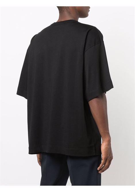 t-shirt hein uomo nera in cotone DRIES VAN NOTEN | T-shirt | HEIN 3600900