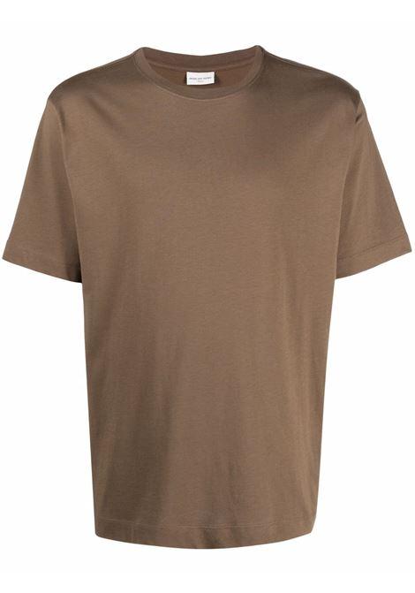 hertz t-shirt man camel in cotton DRIES VAN NOTEN | T-shirts | HERTZ 3600102