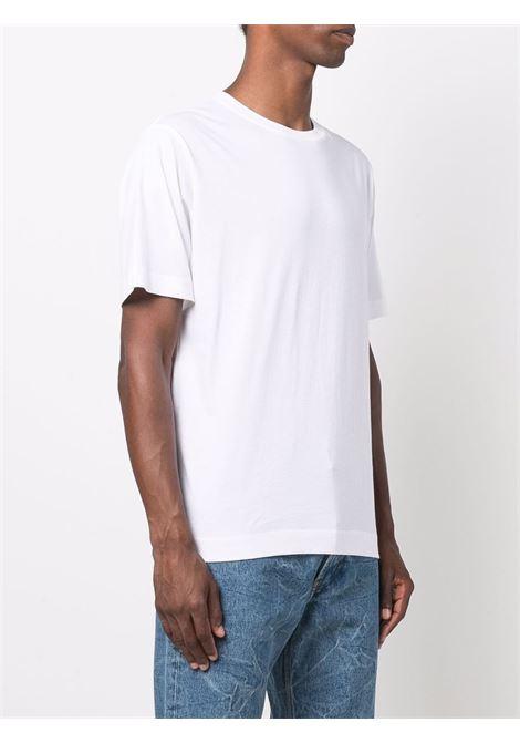 hertz t-shirt man white in cotton DRIES VAN NOTEN | T-shirts | HERTZ 36001