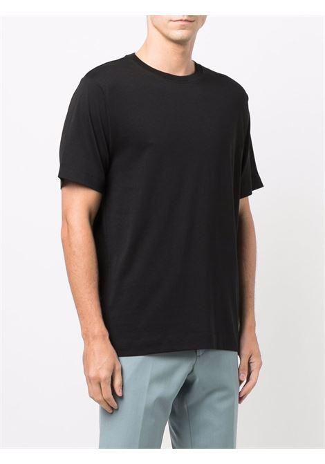 m k t-shirt man black in cotton DRIES VAN NOTEN   T-shirts   HERTZ 3600900