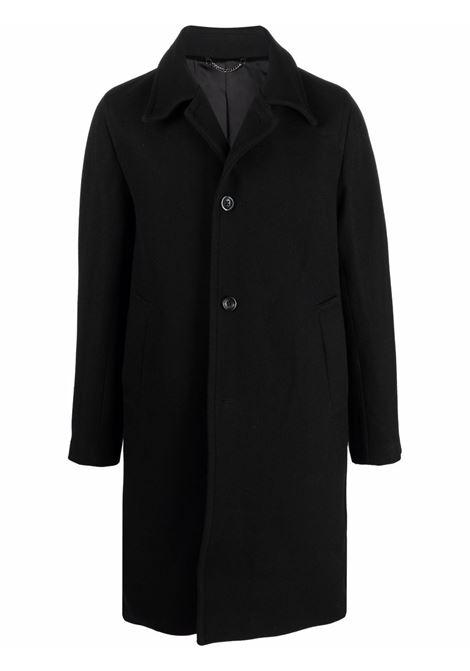 cappotto rovey uomo nero in lana DRIES VAN NOTEN | Cappotti | ROVEY 3354900