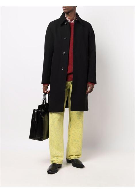 tahir sweater man red in lambswool DRIES VAN NOTEN | Sweaters | TAHIR 3704360