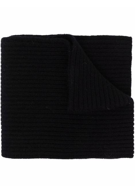 sciarpa tala unisex nera in cashmere DRIES VAN NOTEN | Sciarpe | TALA 3701900