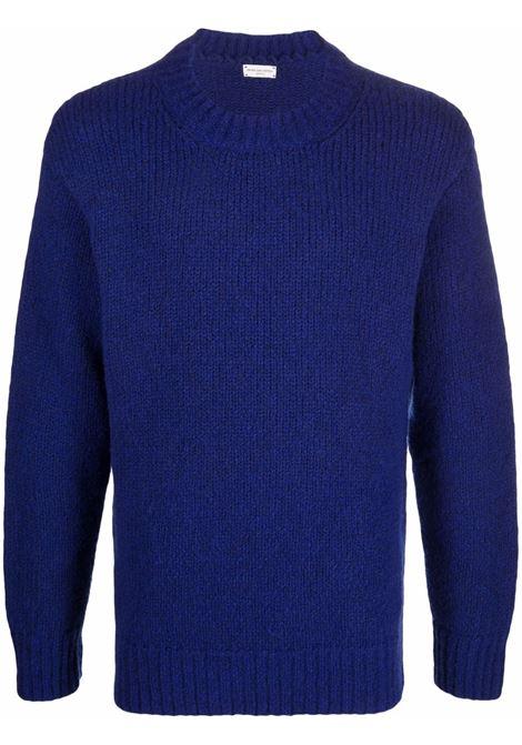 maglione tibbe uomo blu in lana DRIES VAN NOTEN | Maglieria | TIBBE 3705512
