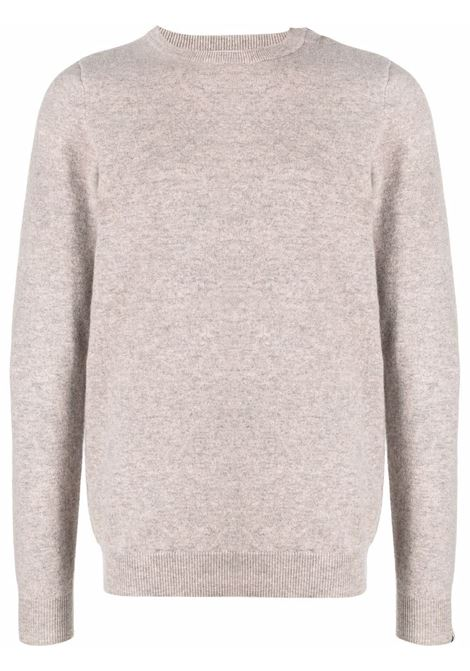 crew neck sweater man beige in cashmere EXTREME CASHMERE | Sweaters | 03603701FE01MOSS