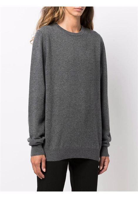 maglione a girocollo unisex grigio in cashmere EXTREME CASHMERE | Maglieria | 03609801FE01FELT