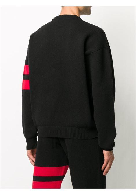 logo sweater man black in wool GCDS | Sweaters | CC94M02115102