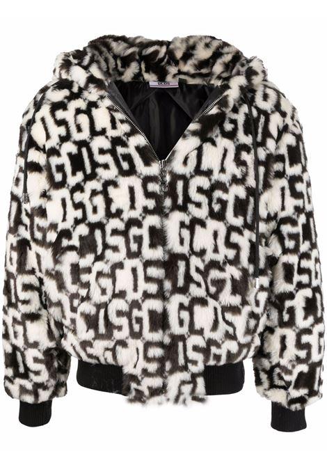 giacca con cappuccio uomo in pelliccia ecologica GCDS | Giacche | FW22M04010902