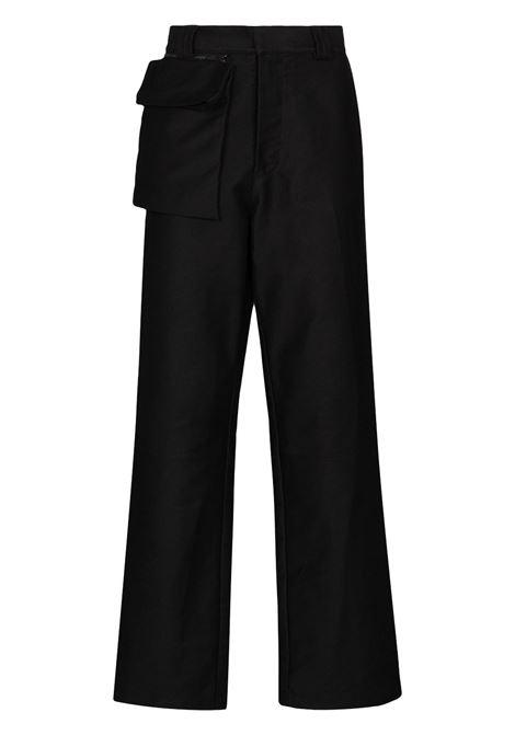 operator trousers man black in cotton GR10K | Trousers | GR1A3TEBLACK