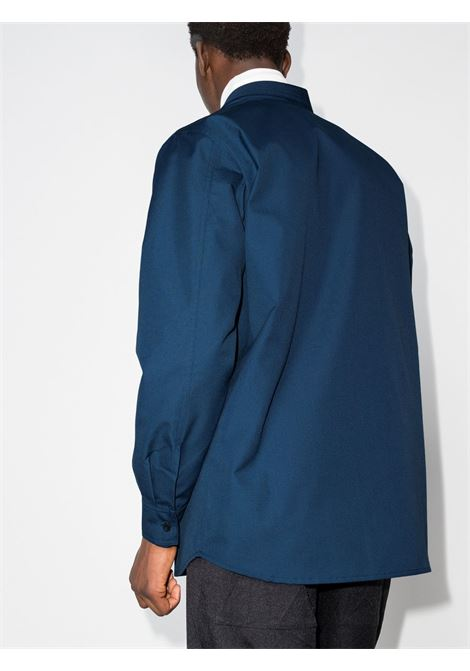 camicia ibena uomo blu in cotone GR10K | Camicie | GR2A5NCBRIGADIER BLUE