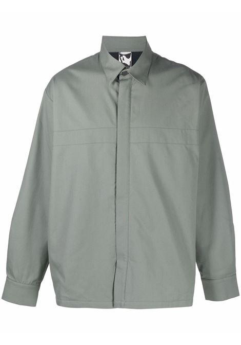 tencate alpha shirt man gray in cotton GR10K | Shirts | GR2ABTSDESERT SAGE