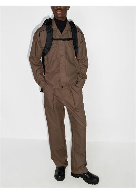 giacca klopman uomo marrone in cotone GR10K | Giacche | GR3A5KGGUESS BROWN