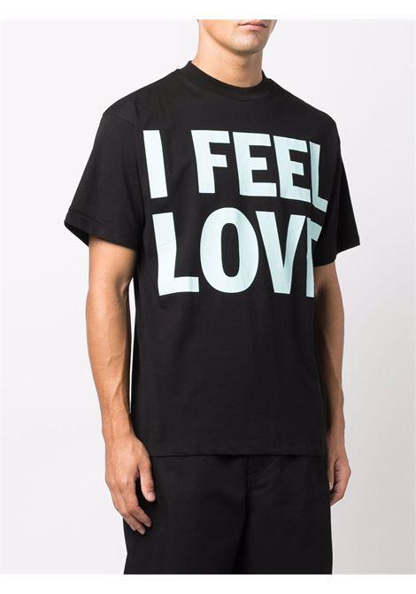 slogan t-shirt man black in cotton HONEY FUCKING DIJON | T-shirts | HFD04T0021