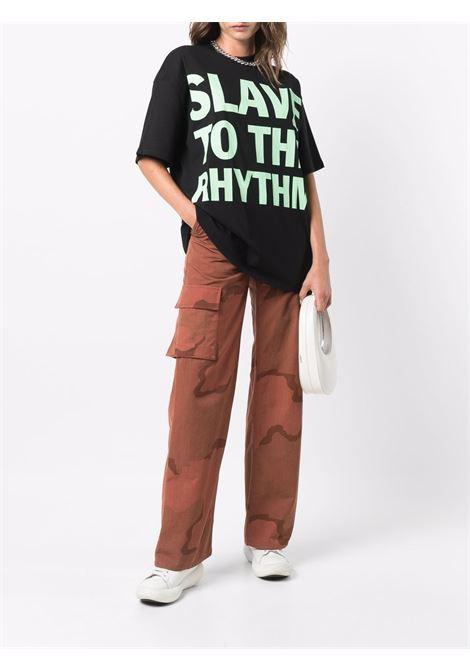 slogan t-shirt unisex black in cotton HONEY FUCKING DIJON | T-shirts | HFD04T0022