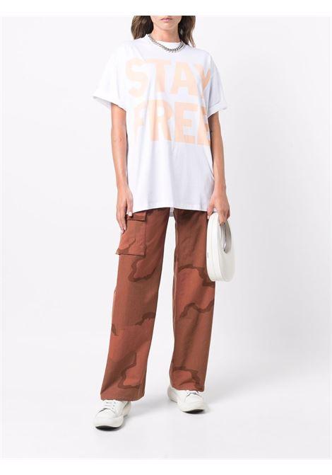 t-shirt con slogan unisex bianca in cotone HONEY FUCKING DIJON   T-shirt   HFD04T0026