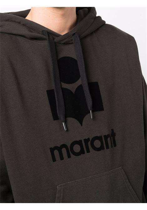 miley hoodie man black in cotton ISABEL MARANT | Sweatshirts | 00MSW0055-00M003H02FK