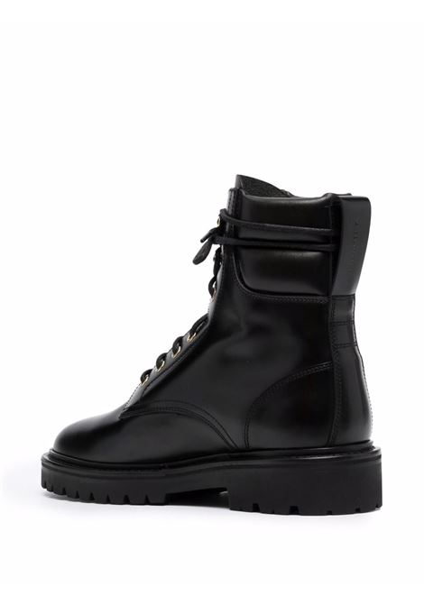 campah boots man black in leather ISABEL MARANT   Boots   1ABO0753-21A003N01BK